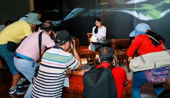 The launch of the second Photo Competition (The Poetic Lucheng, Charming Jiyang) was held today